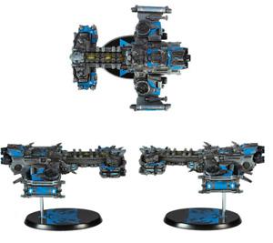 Starcraft Terran Battle Cruiser Battlecruiser mini replica Metallic Ver