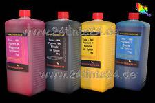 4x 1 L Tinte Refill Ink Pigment B300 B305 B308 B310 318 B500 B505 B508 B510 B518