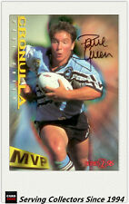 1996 Dynamic Rugby League Series 2 MVP Autographed Card --PAUL GREEN