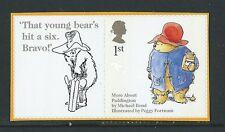 GREAT BRITAIN 2005 ANIMAL TALES PADDINGTON BEAR SELF/AD. CRICKET UM, MNH