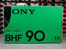 SONY BHF (×10) : JAPAN : NEW & SEALED