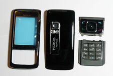 Black Cover Housing Fascia facia faceplate Case skin for Nokia 6288 black