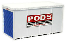 Atlas/BLMA Model HO Scale Pods Portable Moving & Storage Container (1 Assembled)