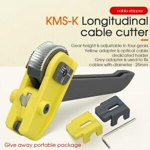 Optical Fiber Tool Longitudinal Stripper Cable Jacket Slitter KMS-K Cable Cutter