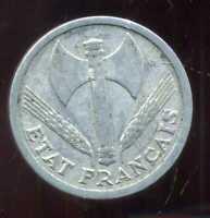 2 francs  BAZOR 1943  B  ( 2 )