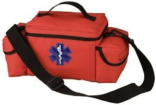Orange First Responder Bag EMS/EMT First Aid Bag Medical Emergency Bag 2343