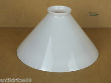 Lampenschirm E14 E27 Glasschirm weiß Klassisch konisch für Wandlampe Hängelampe