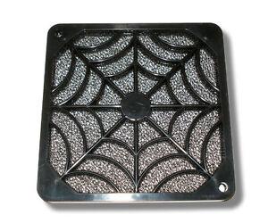 Evercool 80mm Plastic Spider Fan Grill Finger Guard & Filter