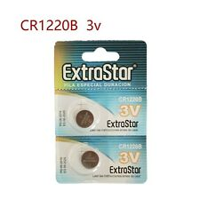 Confezione 2 Batteria Pila CR1220B Bottone Tonda Litio 3V moc
