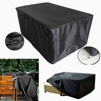 Outdoor Heavy Duty Furniture Covers Garden Patio Table Chair Waterproof Cover BK