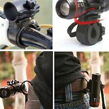 360 Rotation Torch Clip Bicycle Front Light Bracket Flashlight Holder Hot Sell