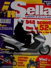 In Sella 1 2001 Cagiva Canyon 500. Maxi scooter Honda Jazz. Yamaha Majesty [Q70]