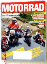 MOTORRAD 12-88+MV AGUSTA 125 S+GUZZI TARGA/MILLE+YAMAHA FZR+BMW R 80+HONDA NTV