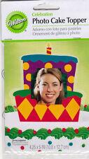 WILTON Photo Cake Topper CELEBRATION Cake Theme NIP Sealed Great for Scrapbooks