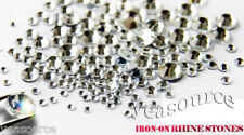 1440 pcs SS16 Hotfix Iron-on Rhinestones Clear Crystal 4mm
