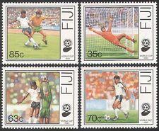 Fiji 1990 Football/WC/World Cup/Italia 90/Sports/Games/Soccer 4v set (n40433)