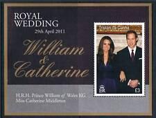 Tristan da Cunha 2011 Royal Wedding 1v MS SG 1022 MNH