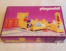 Vintage 1989 Playmobil Victorian Mansion Bedroom set # 5321 New in Box Sealed