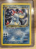 Feraligatr 4/111 Holo foil rare Neo Genesis Unlimited Pokemon NM