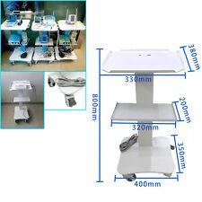 Dental Lab Medical Hospital Clinic Salon Cart Trolley with Wheels 3 Layers Steel