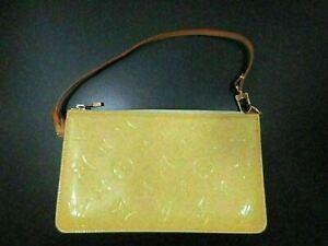 Authentic Louis Vuitton Monogram Vernis Lexington M91056 Shoulder Pouch 86574