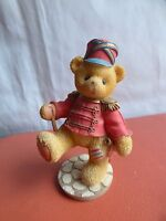 Vintage Priscilla Hillman Cherished Teddies Lanny Royal Guard Teddy Bear Soldier