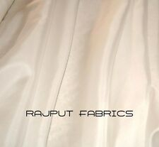 100% Silk Habotai Fabric China Silk Habutai off White Ivory BY THE YARD