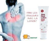 Anti Douleur musculaire 2 Lotions Aloe Vera massage chauffant & Naturel Forever