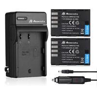 DMW-BLF19E BLF19 Battery + Charger For Panasonic Lumix DMC-GH3 DMC-GH3K DMC-GH4