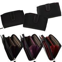 Ladies Medium Smooth Leather Zipped Purse/Wallet by Golunski; Zen Collection