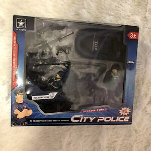 JLX City Police Special Force Kids Toy Gift Boys Speed Chase Special Mission G1