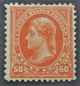 nystamps US Stamp # 275 Mint OG H $260   L30x1396