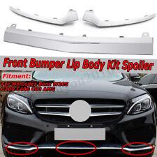 1/2/3pcs Front Bumper Chrome Trim Molding for Mercedes W205 C300 C350 C250 14-17