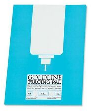 63gsm A2 Goldline Tracing Paper Pad (50 Sheet Pad)