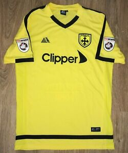 AFC Guiseley 2017 - 2018 #29 rare match worn issue shirt size L