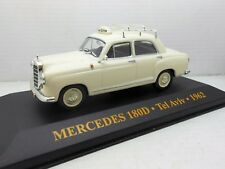 2317 COCHE MERCEDES 1800 TAXI TEL AVIV 1/43 1:43 MODEL CAR IXO MINIATURE 1962