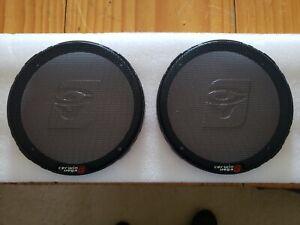 Cerwin-Vega 6.5 inch Coaxial Speaker Rings - Black (pair)