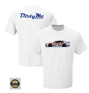 "2020 #77 Ross Chastain "" Dirty Mo Media "" Darlington Throwback T-Shirt SIZE 3XL"