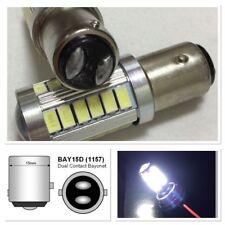 Brake Light 1157 2057 3496 7528 BAY15D 33 SMD LED White K1 For Hyuundai GM HAK