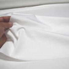 creme weiß Feinköper Deko-Stoff Segeltuch für Kleidung strapazierfähig Meterware