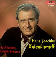 "7"" 1983 MINT-! HANS JOACHIM KULENKAMPFF So ist das eben"