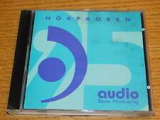 CD Hörproben Bauer Musikverlag TON programm audio BAYER rupesh CLEMEN berendt