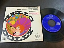 """BARBRA STREISAND Hello Dolly OST 1969 MEXICO 7"""" EP Louis Armstrong"""