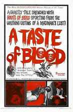 Taste Of Blood Poster 01 A2 Box Canvas Print