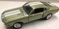 68' Ford Shelby GT500 White Stripes 1968 1/18