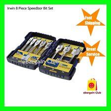 Irwin 8 Piece Speedbor Spade Bit Set 10506014 eBC