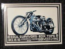 SOUL SURVIVORS / Box Tops Denver 6.5x4.75 Family Dog Concert Post Card FVF 7.0