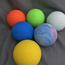 Champion Sports Lacrosse Balls Official Size Rubber Multi-Colored Pack of (6)