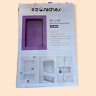 """EZ Niches 8"""" x 14"""" shower niche shelf New"""