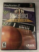 PS2 Strike Force Bowling (Sony PlayStation 2, 2004)